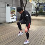 島田君にフットバッグレッスンを行ってきました。