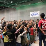サッカーショップKAMO関西ファミリーバーゲン2015でパフォーマンスとワークショップを行いました。