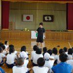福島県いわき市の小学校で夢先生を行ってきました。