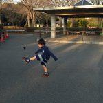 駒沢公園で小学校2年生にプライベートレッスンを行ってきました!