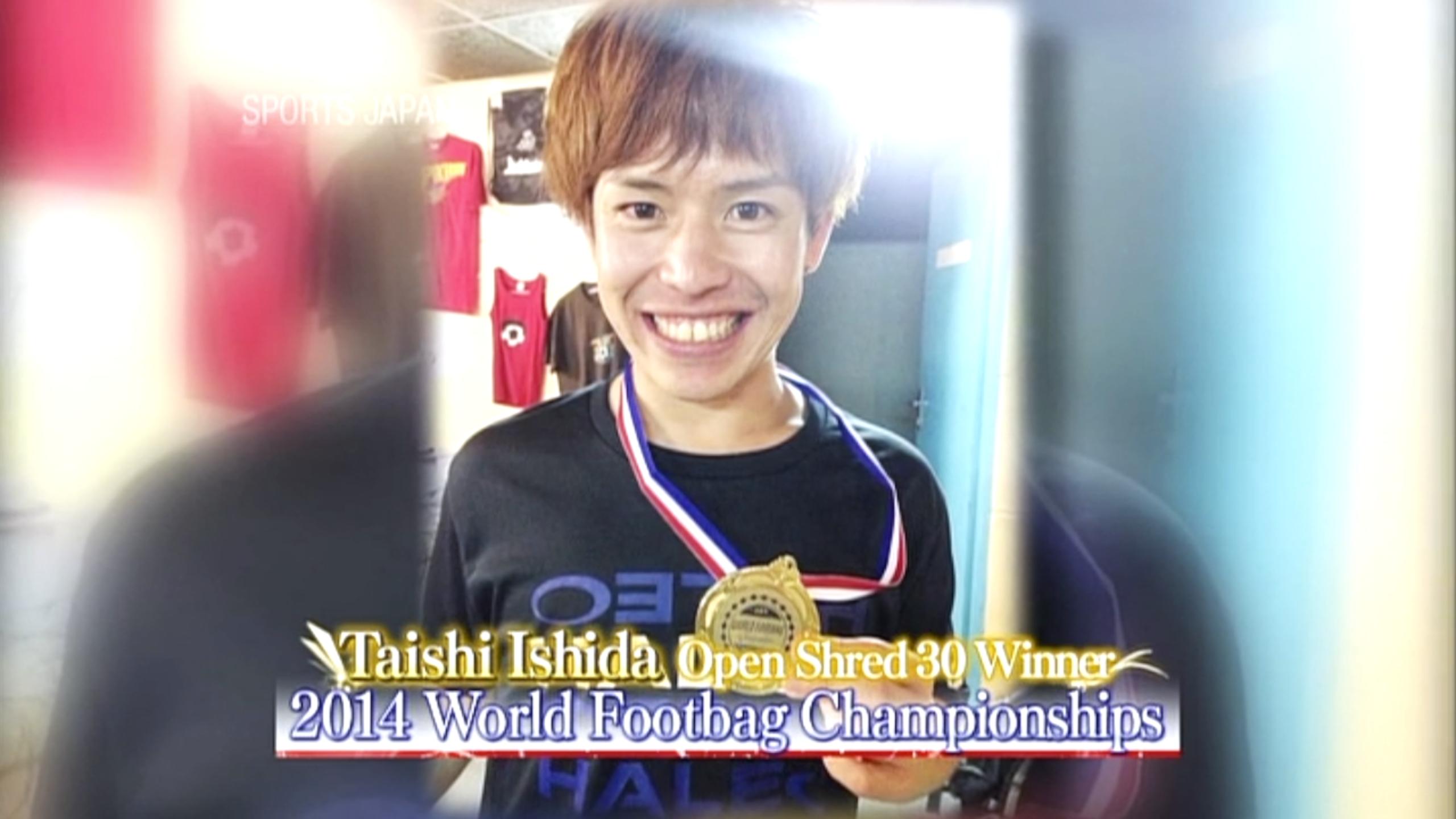 先日TV放送されたNHK WORLD「SPORTS JAPAN」の映像を公開しました。