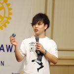 神奈川ロータリークラブ様で講演を行いました。