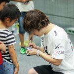 今年も!2年連続で大阪で行われたサッカーショップKAMOさんのイベントに出演しました!