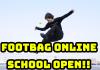 新たなスクールレッスンのご提案。フットバッグオンラインレッスンを開講しました!